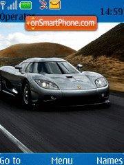 Koenigsegg CCX theme screenshot