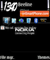 Nokia CP theme screenshot