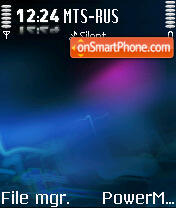 N95 By NVirus theme screenshot