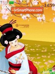 Geisha theme screenshot