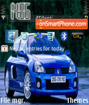 Clio V6 theme screenshot