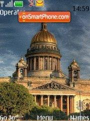 Saint-Petersburg theme screenshot