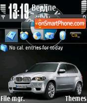 Bmw X5 06 theme screenshot