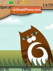 Brown Cat theme screenshot