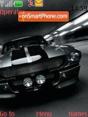 Shelby Gt 500 tema screenshot