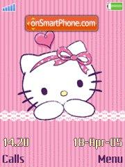 Hello Kitty Love theme screenshot
