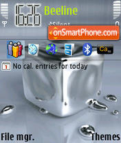 Скриншот темы Mercury Animated