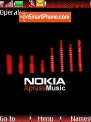 Nokia Music Express theme screenshot