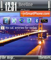 Скриншот темы Bridge 02