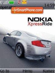 Nokia Rider theme screenshot