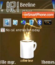 Coffee 01 theme screenshot
