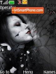 Gothique Dark theme screenshot