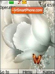 White Tulip theme screenshot