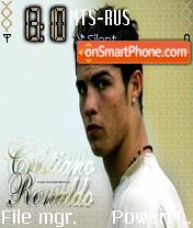 C.Ronaldo theme screenshot