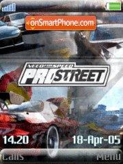 Nfs Prostreet 07 es el tema de pantalla