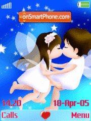 Love Kiss 01 es el tema de pantalla