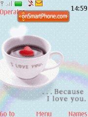 Cup Of Love theme screenshot