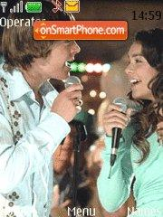 High School Musical 04 theme screenshot