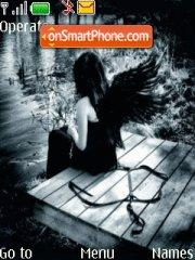 Blackangel 01 theme screenshot