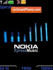 Nokia Xpress theme screenshot