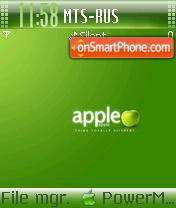 Apple Theme 02 theme screenshot