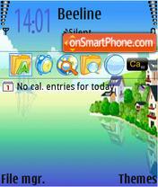 SeaPictures theme screenshot