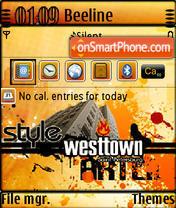 West Town QVGA theme screenshot