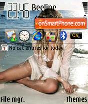Скриншот темы Shakira 05