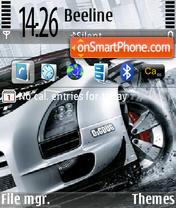 Скриншот темы Car 04
