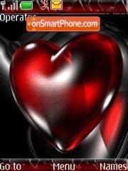 Glass Heart theme screenshot