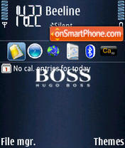 Boss theme screenshot
