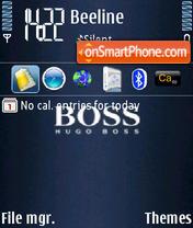 Скриншот темы Boss