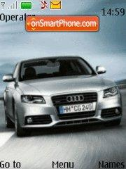 Audi A4 01 theme screenshot