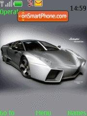 Lamborghini V4 theme screenshot
