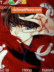 Clamp tema screenshot