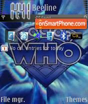 Doctor Who Classic es el tema de pantalla