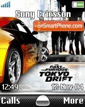 Tokyo Drift es el tema de pantalla