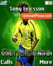 Brazil Ronaldinho theme screenshot