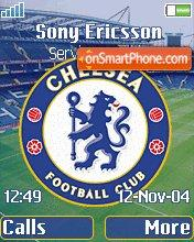 Chelsea FC theme screenshot