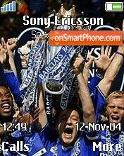 Chelsea Champs2005 theme screenshot