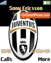 Juventus theme screenshot