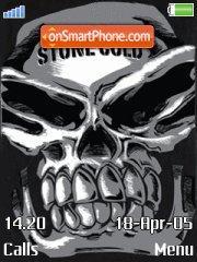 Stone Skull theme screenshot
