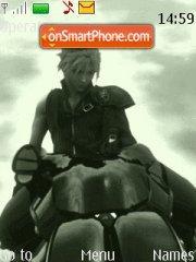 Final Fantasy Cloud theme screenshot