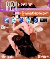 Betty Boop 03 theme screenshot