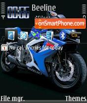 Suzuki 01 theme screenshot
