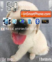 Dogs theme screenshot