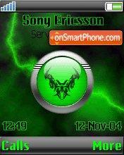 Green Tattoo theme screenshot