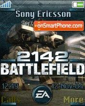 Battlefield 2142 theme screenshot