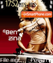DJ. Benzina Theme-Screenshot
