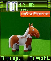 Toy Horse theme screenshot